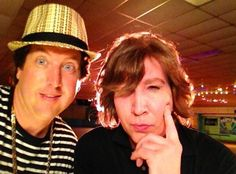 Marilyn Manson: No Makeup on Eastbound & Down Set!