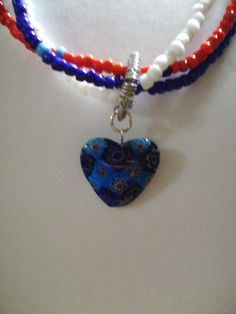 America The Beautiful   FREE SHIPPING by Bridgetsbeadworks on Etsy, $39.95