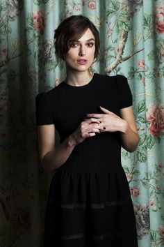 """Anna Karenina"" star Keira Knightley has backed off from taking things ""far too seriously."""