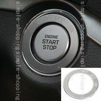 Alloy Ignition Engine Start Key Dec Cover Ring Trim For Hyundai Tucson 2016-2017
