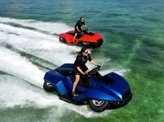 Quad bike + Jet Ski = Quadski