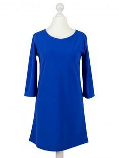 Damen Jersey Tunika, royalblau
