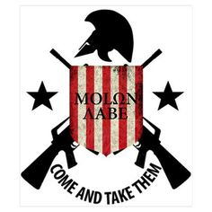 Molon Labe (Come and Take The Poster Calf Tattoo, I Tattoo, Outdoor Survival Gear, Live Free Or Die, Molon Labe, Constitutional Rights, Gun Rights, Dont Tread On Me