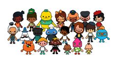 All Characters - Toca Town