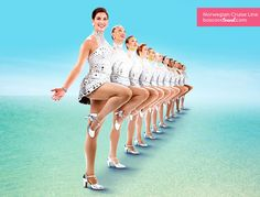 Say hello to the Godmothers of the #NorwegianBreakaway--The Rockettes!