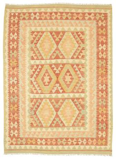 Kelim Afghan Old style-matto 146x204