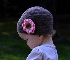 ZZtvori / Dievčenská čiapka 2v1/ Baby Girl Hat