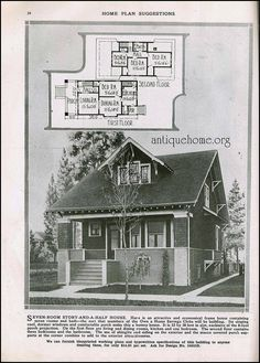 Home Plans Suggestions by Radford Hale House, Cottages And Bungalows, Vintage House Plans, Residential Architecture, Floor Plans, How To Plan, Houses, Homes, House