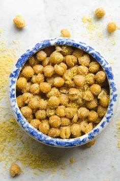 Allergy free snack recipes: These Cheetos-Style Chickpeas pack such an addictive flavor and are MUCH healthier than the original. | TheKitchn