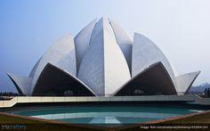 The Lotus temple in (India) is also known as? Baha'i Temple Temple of Peace Mahavir Temple Delhi Tourism, Lotus Temple, Delhi India, Trivia, Travel Guide, Opera House, Peace, Goa India, Quizes