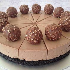 Nutella & forerro rocher cheesecake