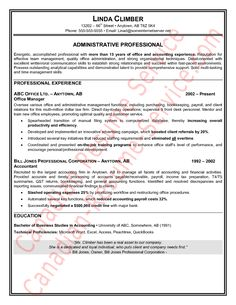 Administrative Secretary Resume Simple If You Seek A Job For Administrative Position You Need To Fulfill .