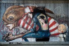 Herakut | Dosenkunst – Graffiti im Rhein-Main-Gebiet
