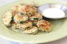 Print Zucchini Parmesan Crisps | KitchMe