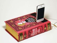 True Vintage Classics lets You Dock Your Phone on Your Favorite Novel #phonestands trendhunter.com