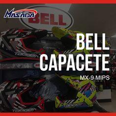 Lançamento: #Capacete Bell MX-9 MIPS   Mais #Bell >> http://www.masada.com.br/bell-m318/  #motorcycle #moto #mx #motocross #motos
