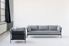Yes, sofas can ! Bouroullec sofa, disponible en version 2 ou 3 places à partir de 1985€, existe aussi en version fauteuil à partir de 1289€,|MilK decoration