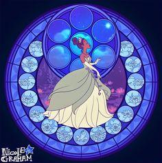 Legend: Vitrales de princesas y heroínas Disney