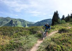 "singletracks on Instagram: ""The scale of the trail network around Morzine, France is difficult to wrap your mind around... But @mtbgreg is trying his best!! #alps #Morzine @reach4thealps"""