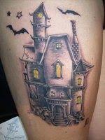 Haunted House tattoo ideas   Zack Darklighters