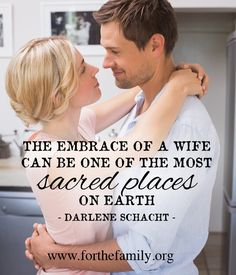 This is SUCH a powerful post! A great reminder to wives about how they can be an encouragement and a sacred refuge to their husbands. Love it!