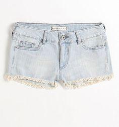 Bullhead Black Basic Fray Hem Faded Shorts - PacSun.com