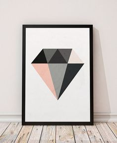 Diamond print Minimalist art Geometric print by ShopTempsModernes Diamond print Minimalist art Geometric print by ShopTempsModernes <!-- Begin Yuzo --><!-- without result -->Related Post Have your kids choose the serving on the front of . Geometric Poster, Geometric Painting, Geometric Art, Art Minimaliste, Wal Art, Diamond Wall, Diamond Rings, Art Mural, Modern Art Prints