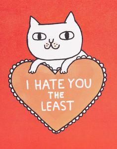 Ohh Deer Gemma Correll – Hate You – Karte