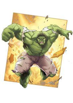 Hulk Commission 2016 by DavidValde.deviantart.com on @DeviantArt