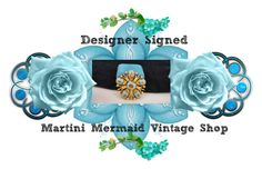 """Designer Signed"" by martinimermaid ❤ liked on Polyvore featuring vintage"