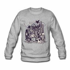 Hipster Tattoo, Metal Shirts, Hippie Style, Rockabilly, Pullover Shirt, Rocker, Sweatshirts, Sweaters, Fashion