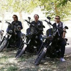 SOA - Tig, Chibs & Jax Could not have chosen better actors to play these characters