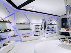 Retail Design | Footware | Angelo Coppola Diffusion flagship store by Arketipo Design, Monza store design