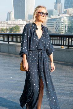 Les plus beaux looks de la Fashion Week de Londres #streetstyle #LFW #Londres #printempsété16