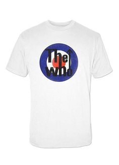 True Vtg Vintage 80s 90s THE WHO Big Logo Paperthin T-shirt Size ...