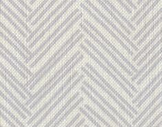 herringbone sketch in lilac from textiles by casey #fabric #linen #purple