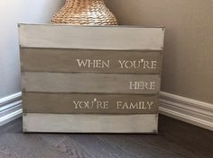 Hey, I found this really awesome Etsy listing at https://www.etsy.com/ca/listing/487540573/family-youre-family-homemade-hand