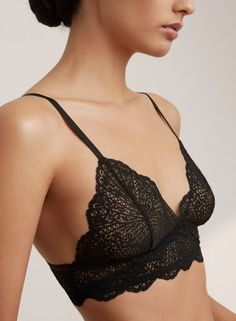 <p>A dainty lace bralette you'll want to show off</p>