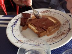 Delicious dessert at Chez Bruno, a cafe in Amboise just across from the chateau | Photo by Patrick & Tiffany Jonas, September 2014 #amboise #france #loirevalley #restaurant #cafe