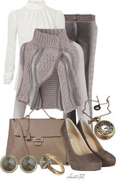 """Cropped Cardigan"" by christa72 ❤ liked on Polyvore"