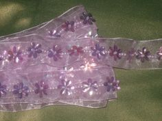5 3/4 yards 1 width light lavender color with by craftandtrimco