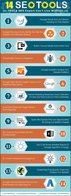 Check out these amazing 14 SEO Tools that can help you to boost search engine ranking of your website and increase organic traffic on your website. Visit the website to learn more SEO. Inbound Marketing, Marketing Tools, Marketing Digital, Content Marketing, Affiliate Marketing, Marketing Technology, Social Marketing, Marketing Ideas, Business Marketing