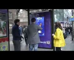Cadbury #Touchscreen Bus Shelter Game trendhunter.com
