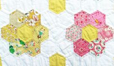 Grandmother's Flower Garden Quilt