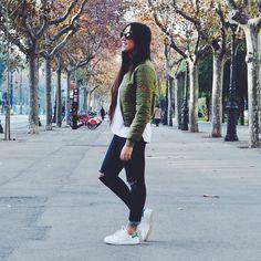 Barcelona fashion streetsyle