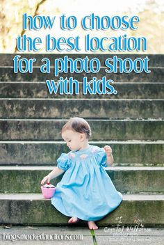 How do I choose the best location for a photo shoot with my kids?    #photos