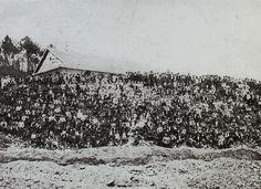 Operários das Minas de São Pedro da Cova, 1920. © Museu Mineiro de São Pedro da Cova.