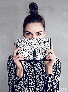 DONNE VINCENTI #accessories #bag #black&white
