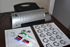 Why the Scotch Laminator is a must for our Preschool Homeschool!