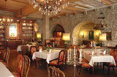 Hotel Gotisches Haus: Cafe & breakfast room, Rothenburg odT
